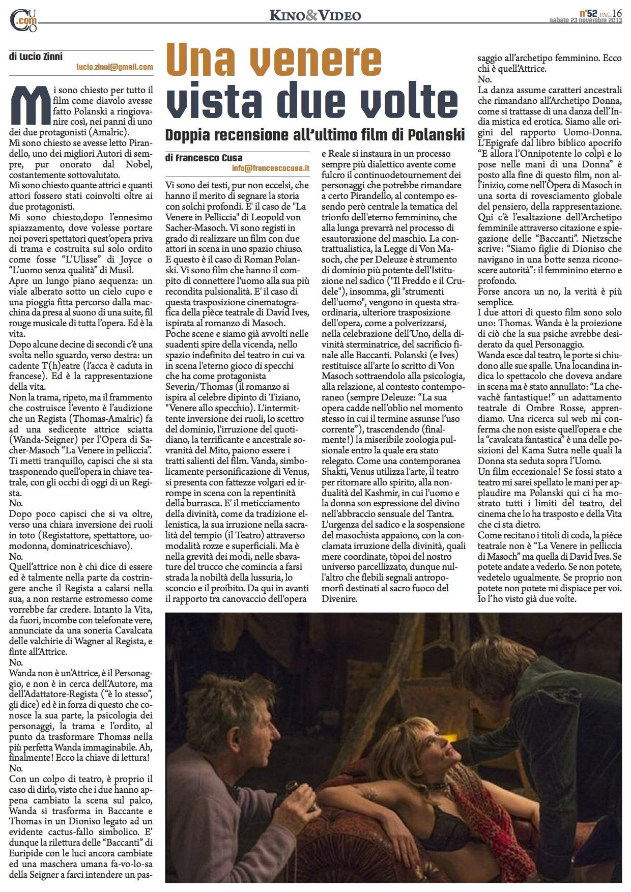 2013 11 23 - Venere allo specchio tiziano ...